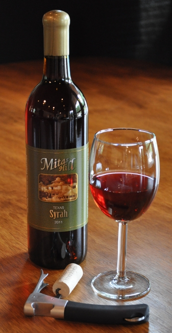 Picture of bottle of Mitas Hill wine